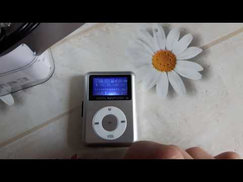 Tiny mp3 player with speaker