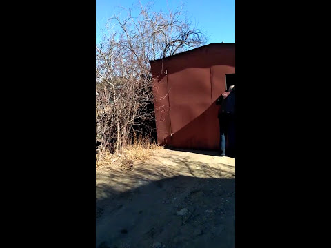 Перевозка железного гаража