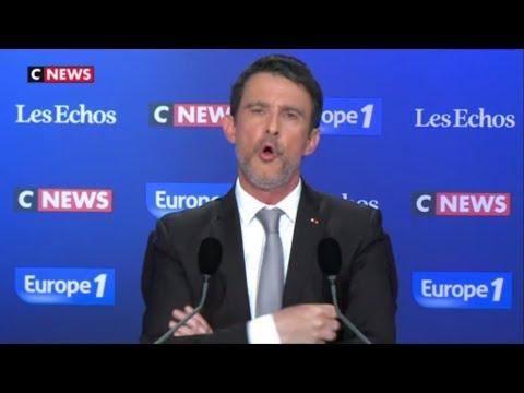 Manuel Valls : J'approuve les frappes militaires en Syrie d'Emmanuel Macron 15/4