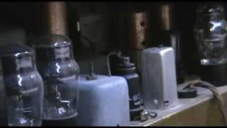 Výstava starých radiopřijímačů