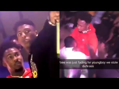 Nba Youngboy Sends His Goon D.Dawg To Fade Fan That's Testing Him