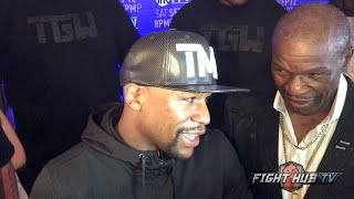 "Floyd Mayweather to Ronda Rousey ""Who ever she is I wish her nothing but the best"""