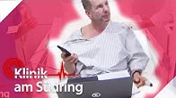 Büro im Krankenhaus: Wieso kann dieser Mann nicht aufhören zu arbeiten?   Klinik am Südring   SAT.1