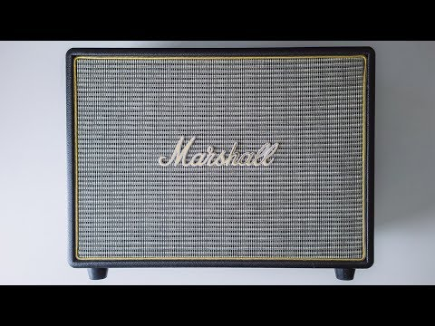 MARSHALL WOBURN BLUETOOTH SPEAKER REVIEW
