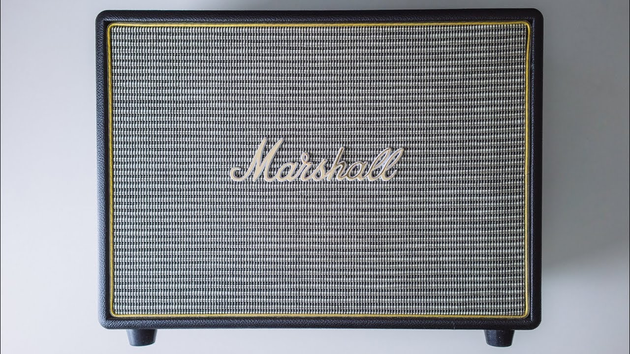MARSHALL WOBURN BLUETOOTH SPEAKER REVIEW - YouTube 3956ed316a49b