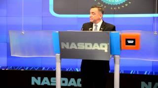 2013 USHAA Bravo Awards Luis Diaz - NASDAQ Closing Bell January 24 Thumbnail
