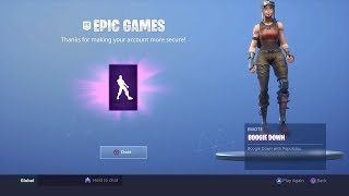 Como obter o BOOGIE DOWN emote gratuitamente no FORTNITE BATTLE ROYALE!