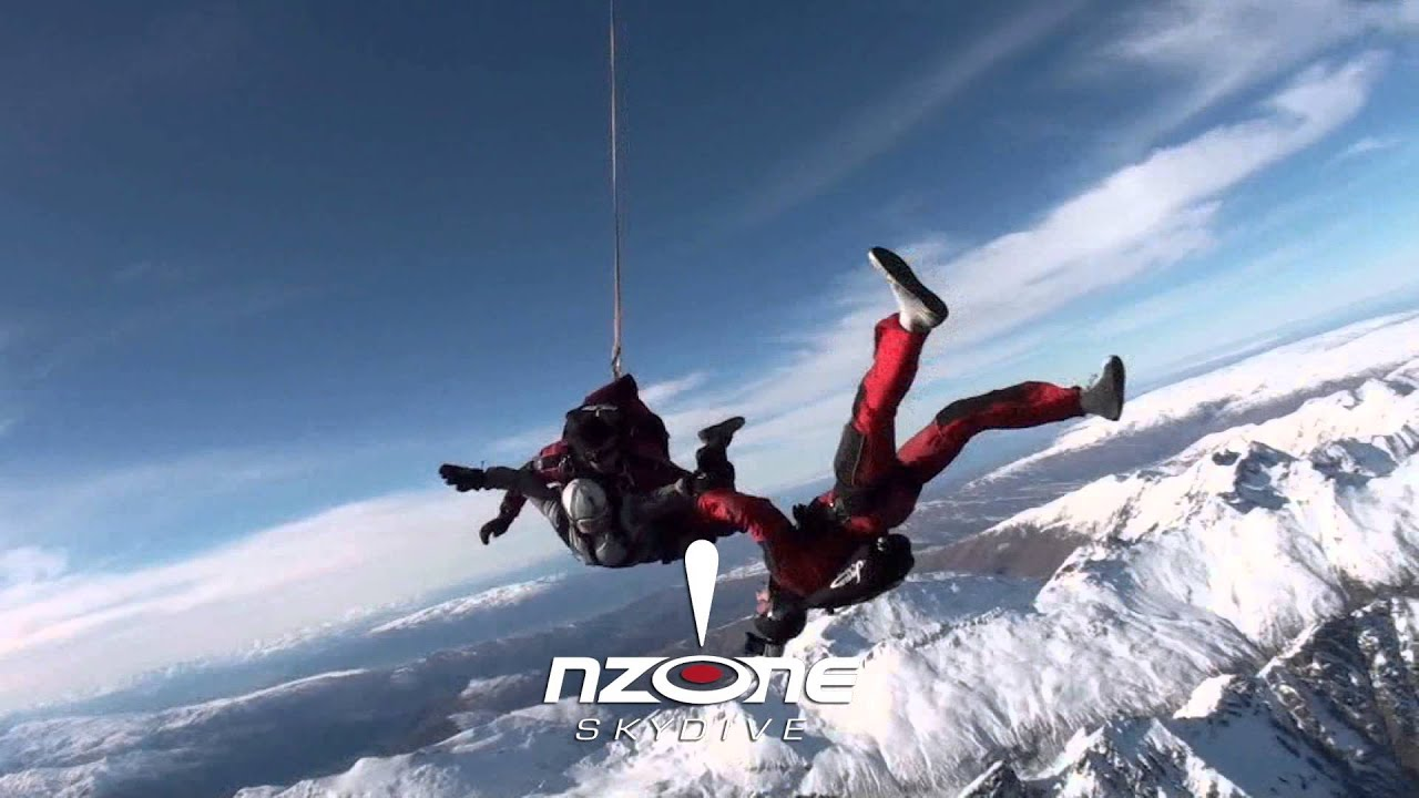 Skydiving In New Zealand S South Island Over Stunning Queenstown