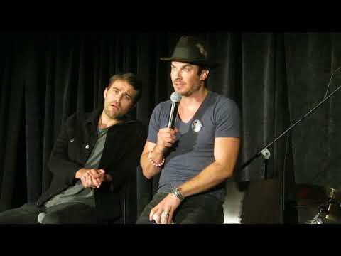Ian and Chris Wood makeout
