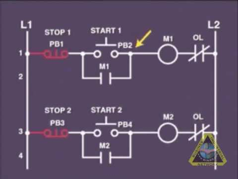 motor control wiring diagram symbols kfi winch solenoid electrical wiring: circuits tutorial - youtube