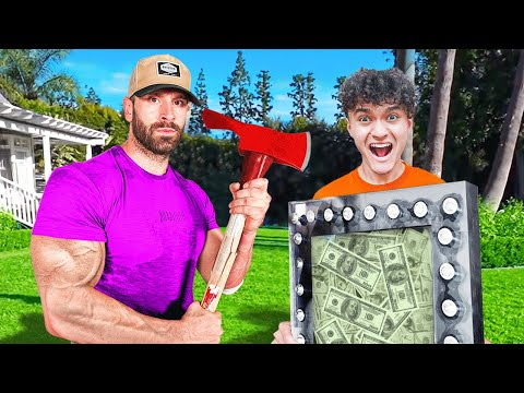 World's Strongest Man vs $10,000 Unbreakable Safe