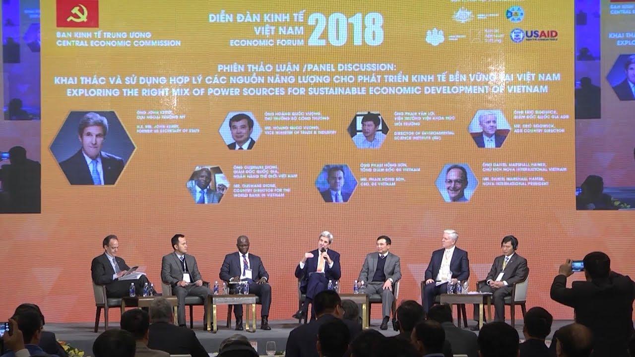 Diễn đàn kinh tế Việt Nam 2018: Doanh nghiệp Việt trước yêu cầu phát triển bền vững