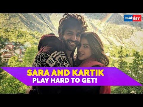 Sara Ali Khan And Kartik Aaryan Play Hard To Get! Mp3