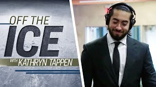NY Rangers' Mika Zibanejad on producing music | 'Off the Ice' with Kathryn Tappen | NHL on NBC