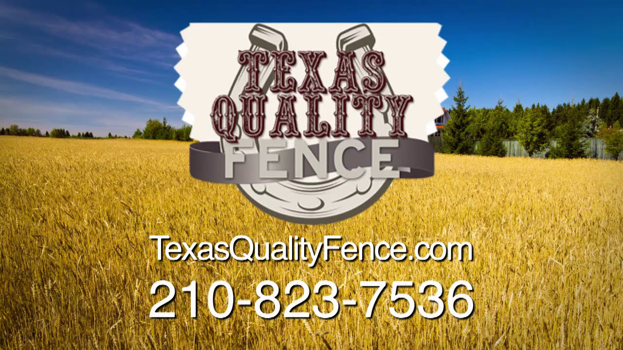 Texas Quality Fence Iron Chain Link Rod Iron Cedar