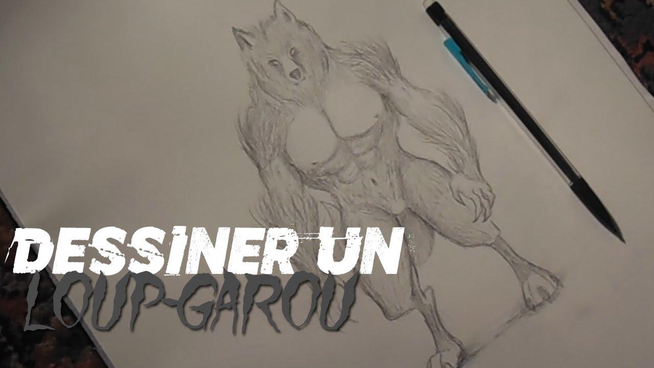 Dessiner Un Loup Garou