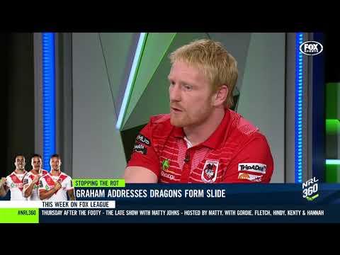 James Graham's blunt Dragons view | NRL 360