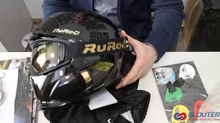 ruroc RG1-Dx - обзор крутого шлема