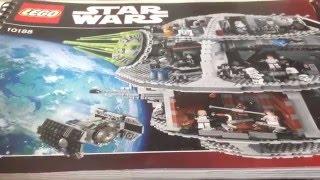 Лего Звёздные Войны - Звезда Смерти (Обзор на русском) 10188 Review