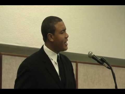 """I Have a Dream"" speech at the Flint Public Library's 2010 MLK Celebration"