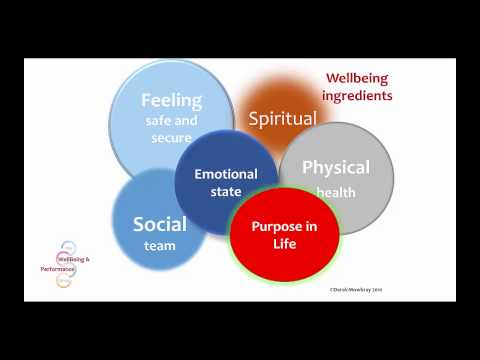 Resilience, WellBeing and Performance in the workplace