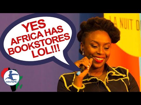 African Writer Chimamanda React to Racist Question 'Does Nigeria Have Bookstores?'