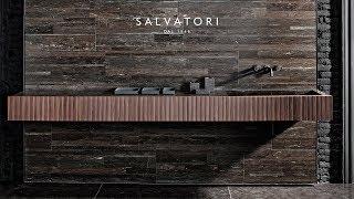 Salvatori - Guida rapida al montaggio di Adda lavabo integrato in abbinamento ad Adda Cassetto