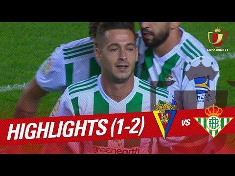 Resumen de Cádiz CF vs Real Betis (1-2)