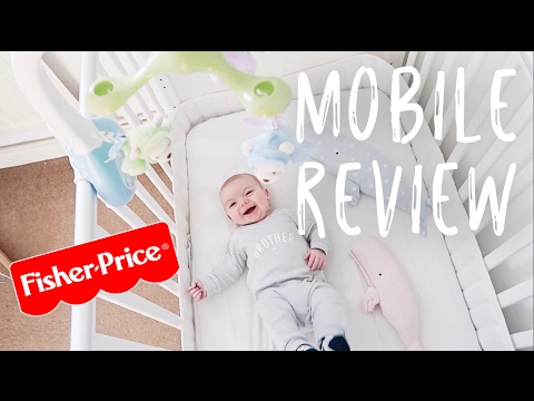 Fisher-Price Butterfly Dreams 3-in-1 Projection Mobile | #AD