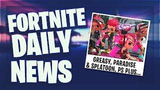 GREASY KOMMT, PARADISE WEG? SPLATOON & PS PLUS PACK - Fortnite Daily News (5 September 2019)