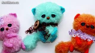 Амигуруми: схема Маленьких Котиков. Игрушки вязаные крючком. Free crochet patterns.