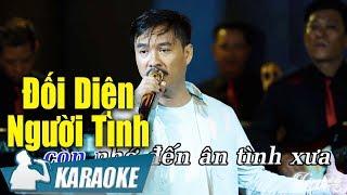 Đối Diện Người Tình Karaoke Quang Lập (Tone Nam) | Nhạc Vàng Bolero Karaoke