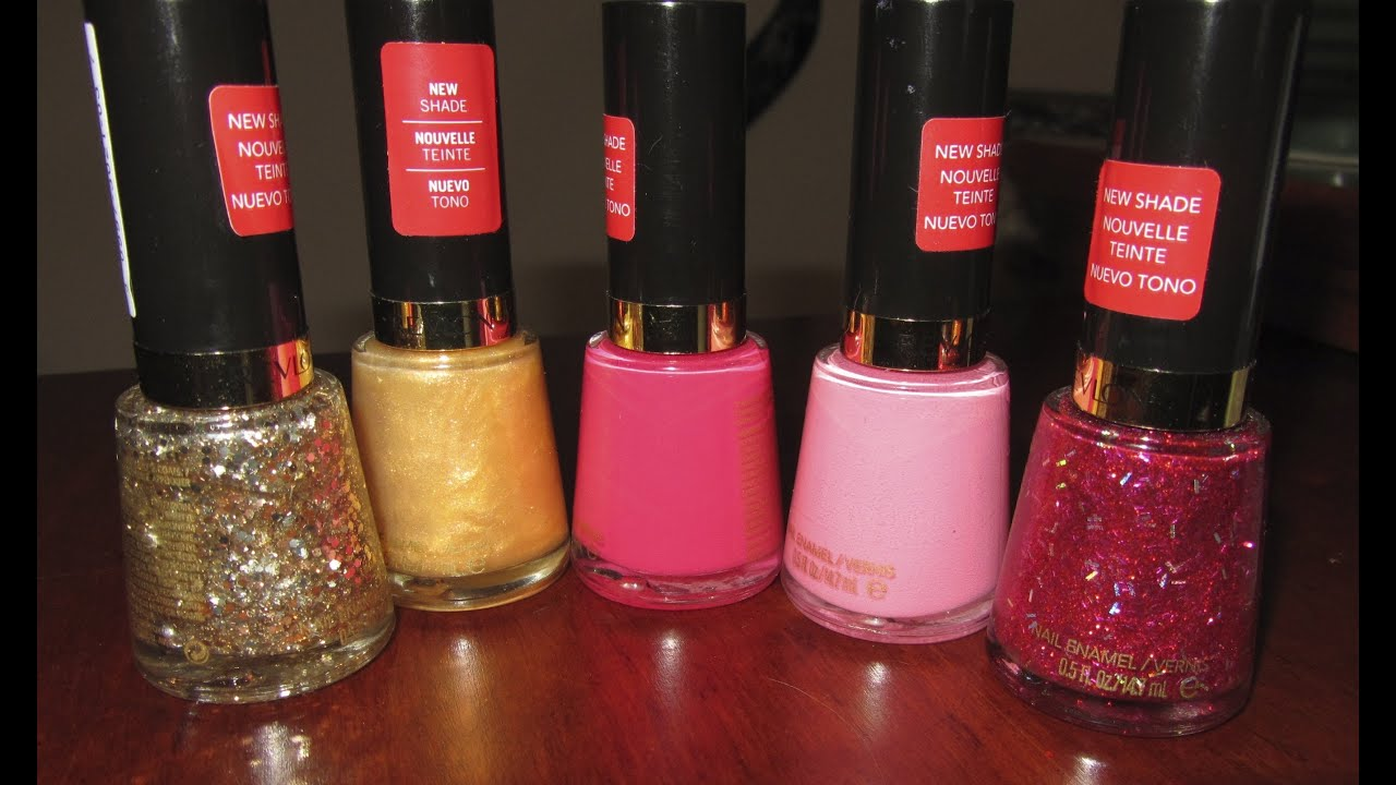 Revlon Nail Polish Review: Vernis - YouTube