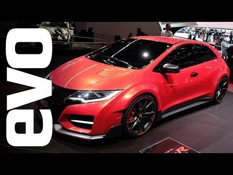 Honda Civic Type-R Concept at Geneva 2014   evo MOTOR SHOWS