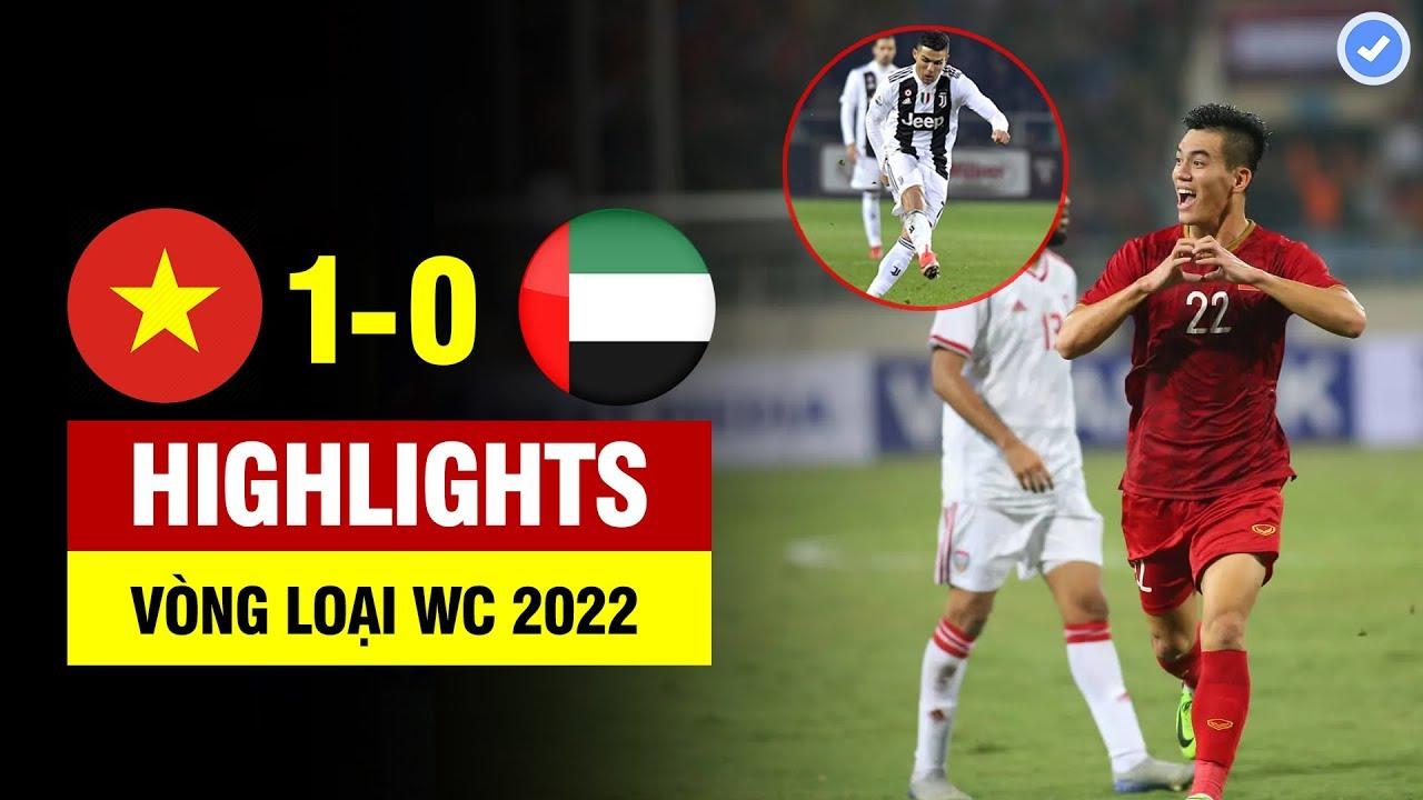 Highlights Việt Nam 1-0 UAE | Tiến Linh hoá CR7 tung siêu phẩm đẳng cấp thế giới nổ tung Mỹ Đình