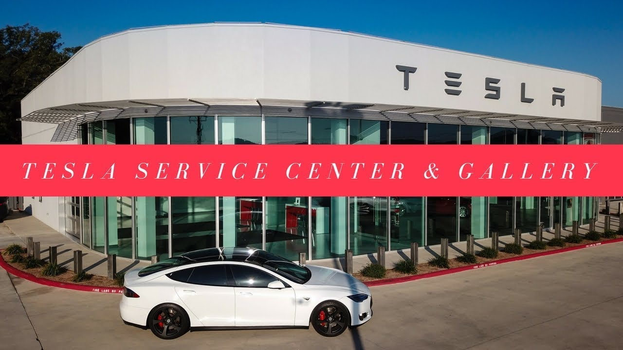 Tesla Service Center Amp Gallery In 4k Youtube