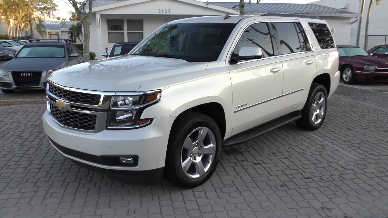 This 10 Chevrolet Tahoe LT is a luxury SUV with real truck credibility. | 2015 chevrolet tahoe lt