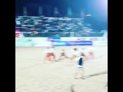 Hilary Jackson dance academy performs at Lagos Beach soccer 2016