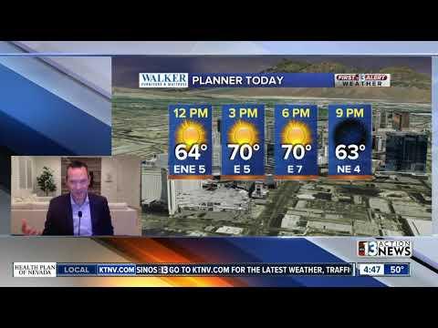 13 First Alert Las Vegas Morning Forecast | Mar. 30, 2020