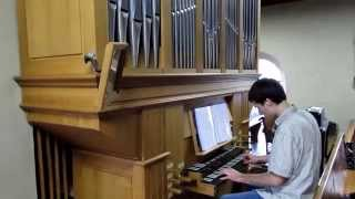 George Martin Theme One on pipe organ