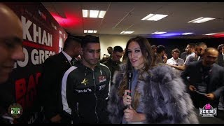 AMIR KHAN REACTS TO KELL BROOK CONFRONTING HIM; WANTS ADRIEN BRONER 1ST THEN KELL BROOK