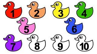 Учимся считать до 10  Учим цвета  Учим цифры  Для самых маленьких  Развивающие мультики  0+