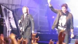Avantasia - Promised Land intro Feat. Tobias Sammet & Eric Martin (Live in Québec 2013)