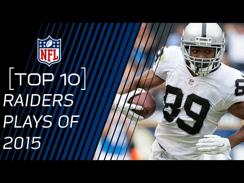Top 10 Raiders Plays of 2015 | #TopTenTuesdays | NFL