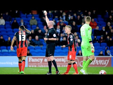 Is this a goal? | Callum Wilson effort controversially disallowed at Cardiff City