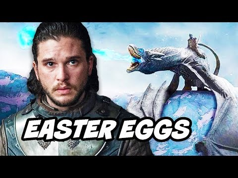Game Of Thrones Season 8 Stark Kings of The North and Easter Egg Scene Explained