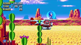 Baixar Sonic Mania Soundtrack - Skyway Octane (Mirage Saloon Zone Act 1 - ST Mix)