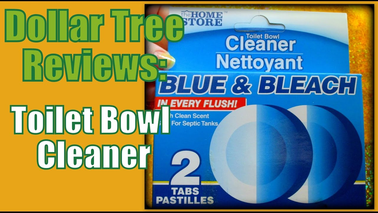 Dollar Tree Reviews Toilet Bowl Cleaner Youtube