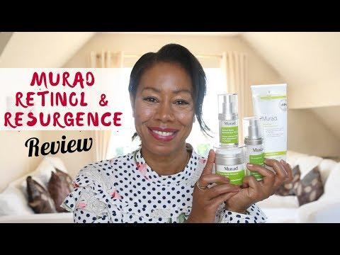 Murad Skincare - Retinol & Resurgence Review | Time With