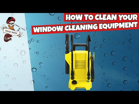 Cleaning Your Window Cleaning Equipment